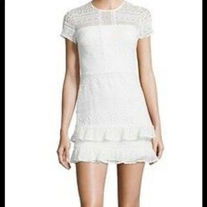 Parker Eyelet lace ruffle dress
